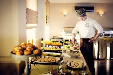Catering. Lunch. Coffee Service